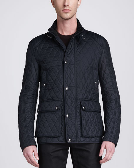 Pathfield Tech Quilted Jacket, Ink Blue