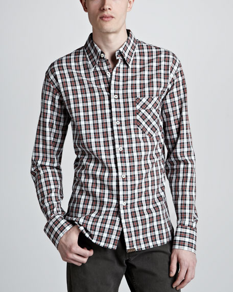 Wallace Plaid Sport Shirt