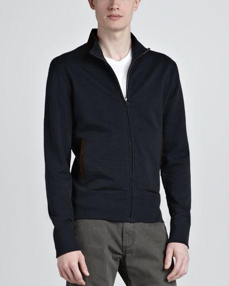 Knit Track Jacket