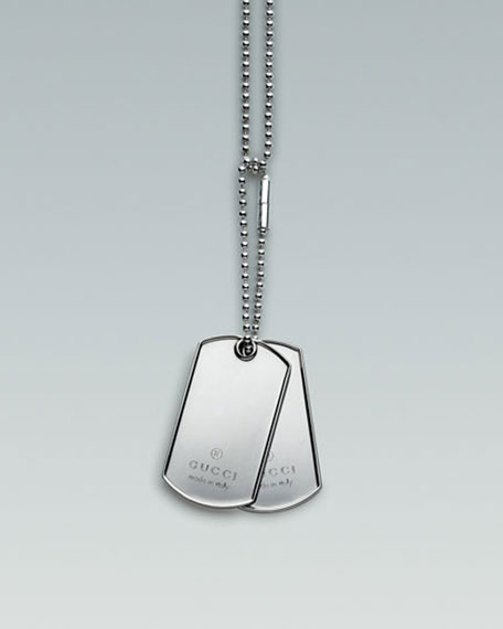 Necklace with Dog Tags