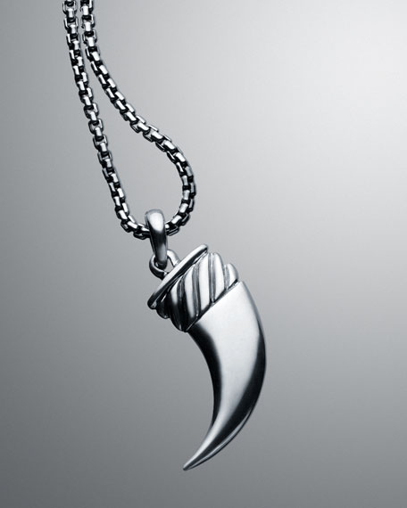 Claw Pendant Necklace