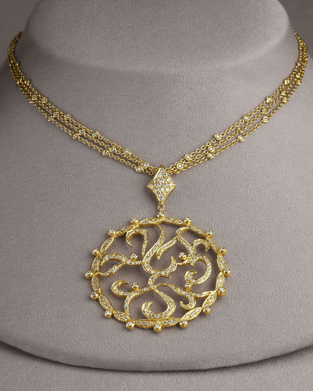 Amore Circle Necklace