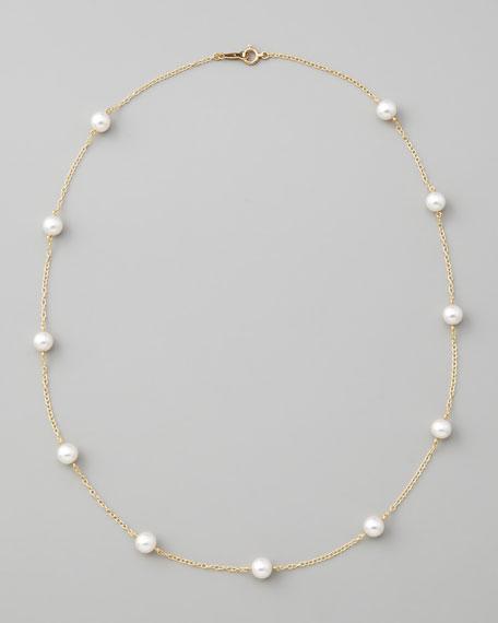 Mikimoto Pearls Necklace: MIKIMOTO Akoya Pearl Necklace