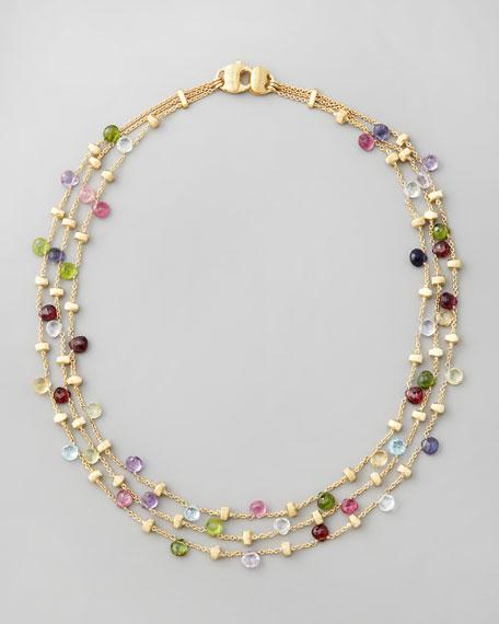 Paradise Multi-Strand Necklace