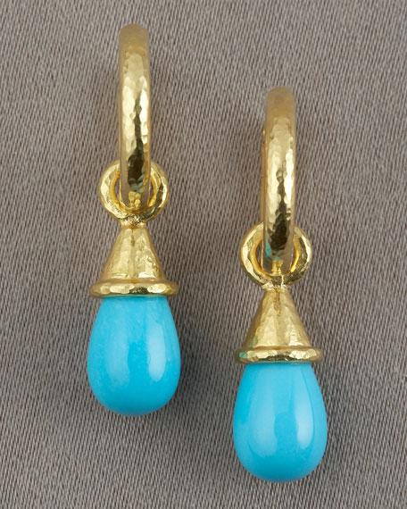 Turquoise Hoop Pendant