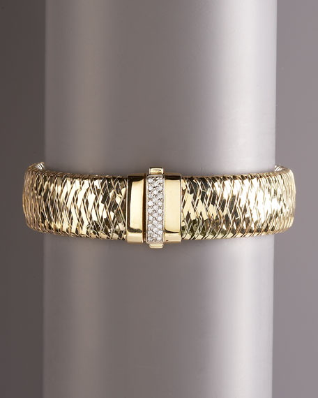 Primavera Yellow Gold Diamond Bracelet