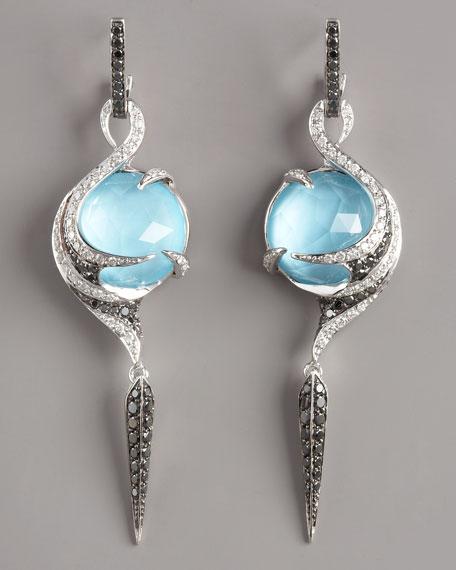 Turquoise Vortex Earrings