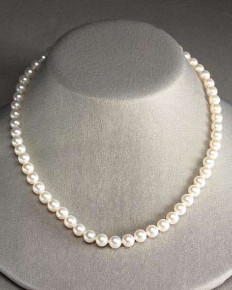 Princess Strand Pearl Necklace