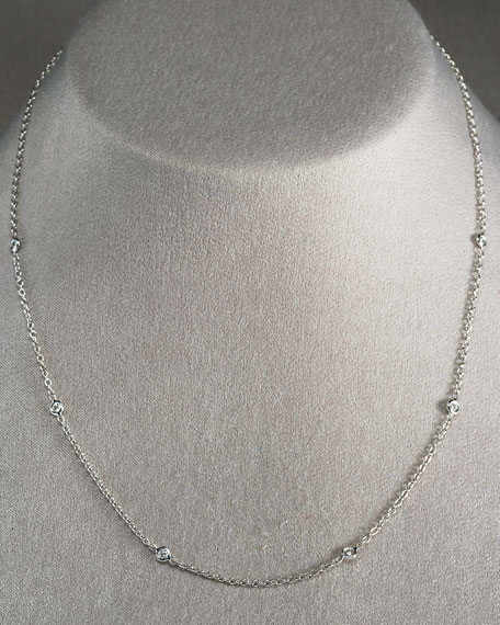"Diamond Eyeglass Chain, 18""L"