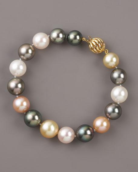 Mixed-Pearl Bracelet