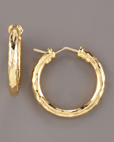 28mm Martellato Hoop Earrings