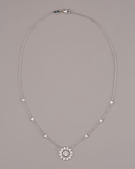 Lace Disc Necklace