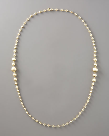 "Beaded Necklace, 36""L"