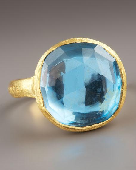 Jaipur Blue Topaz Ring