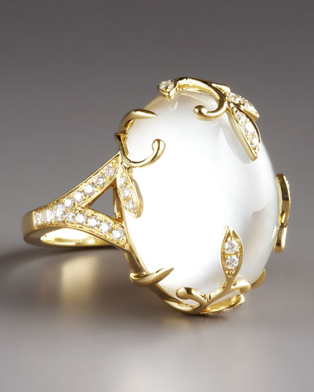 Jelly Vine Mother-of-Pearl Ring