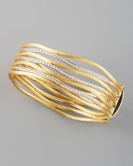 Jaipur Stacked Diamond Cuff