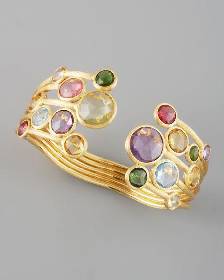 Jaipur Stacked Gemstone Ring