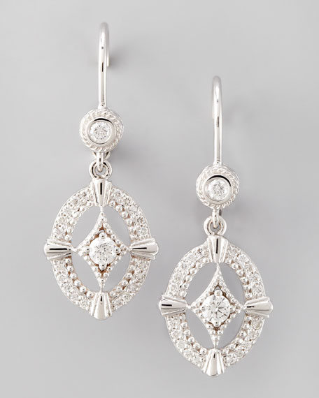 Oval New Classic Diamond Earrings
