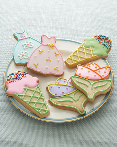 Spring Butter Cookies