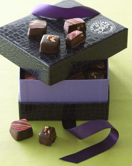 Artisan Chocolate-Dipped Caramels