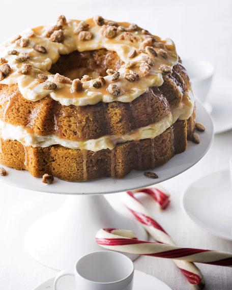 Pumpkin-Caramel Cream Cheese Cake
