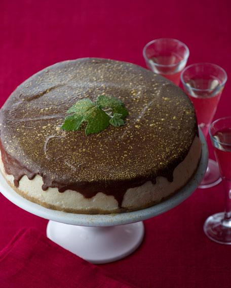 Champagne Cheesecake