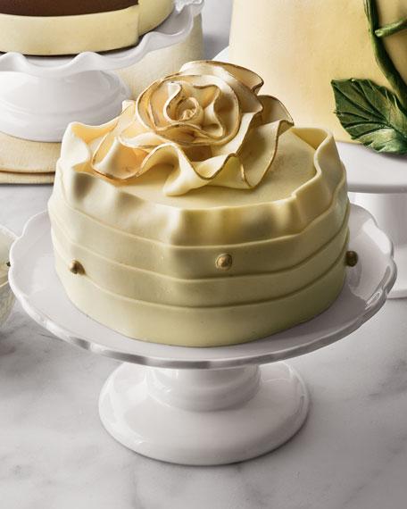 """Holiday Ruffle"" Cheesecake"