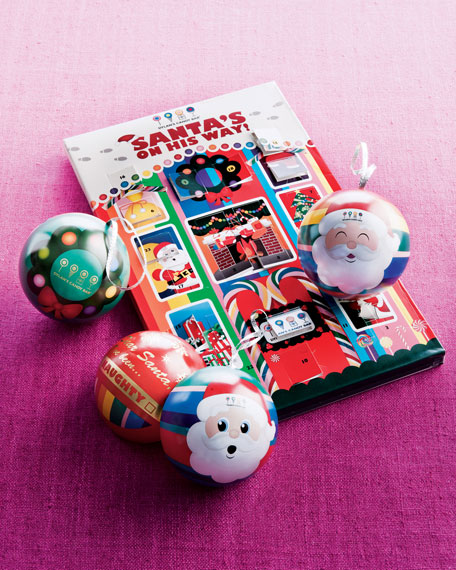 """Count Down to Christmas"" Advent Calendar & Ornament Set"