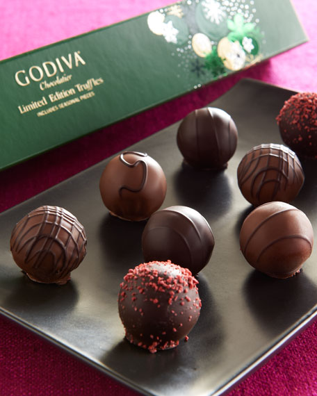 10-Piece Assorted Holiday Truffle Gift Box