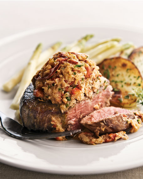 Lobster-Crowned Filet Mignon
