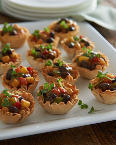 Southwest Phyllo Cups