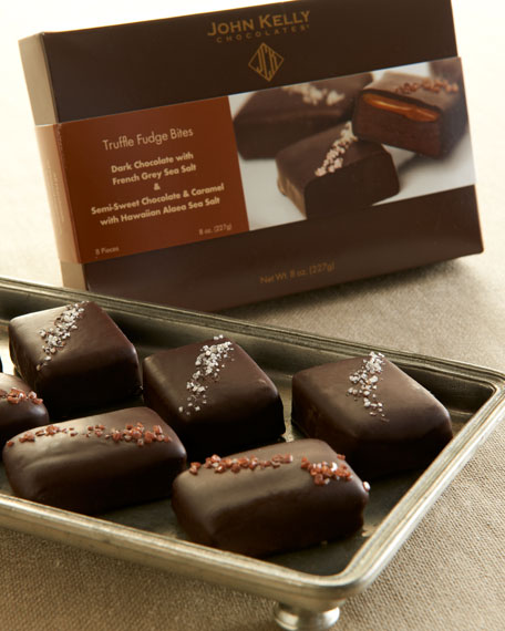 John Kelly Chocolates Eight-Piece Assorted Fudge Bites
