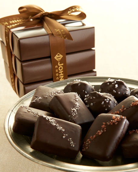 John Kelly Chocolates Salted Chocolate Trio