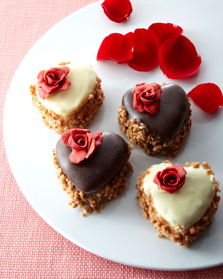 Mini Heart-Shaped Cheesecakes