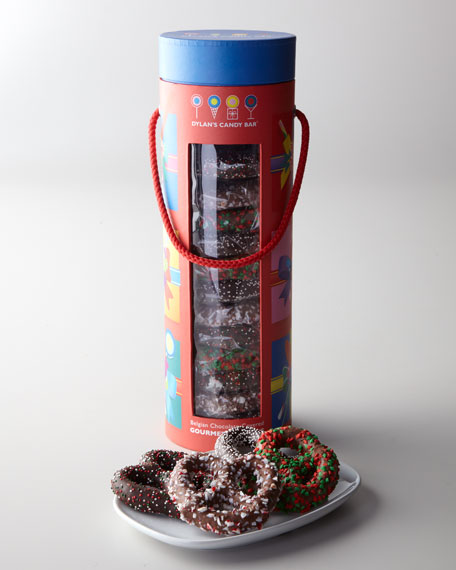 Holiday Pretzel Tower