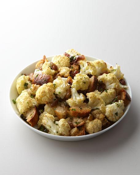 Roasted Cauliflower with Raisins