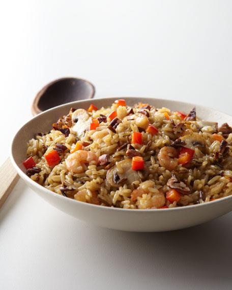 Wild Rice, Pecans, & Shrimp Dressing