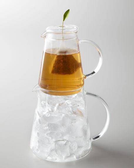 """Tea Over Ice"" Pitcher"