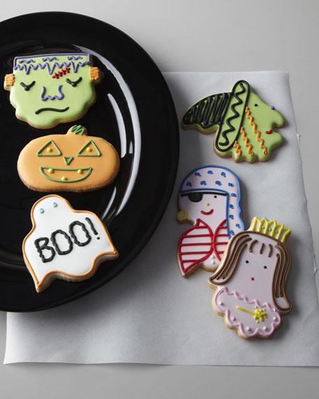 Six Halloween Cookies