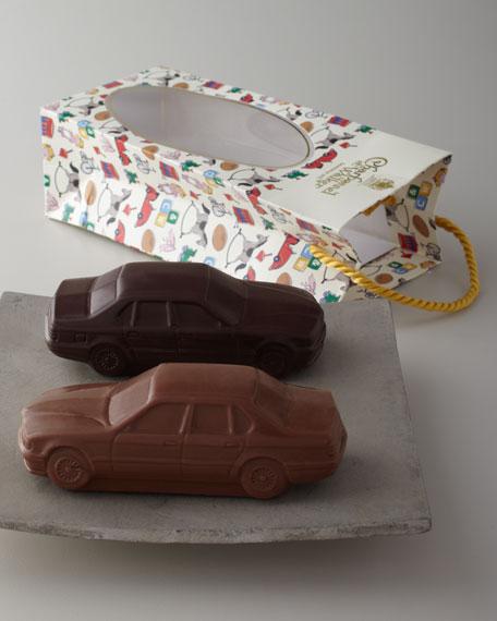 Milk & Dark Chocolate Car Set