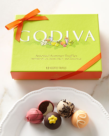 12-Piece Assorted Summer Truffles