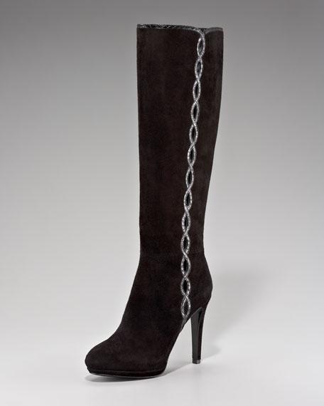 Barletta Suede Knee Boot