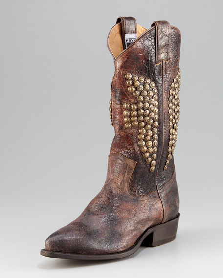Billy Studded Cowboy Boot