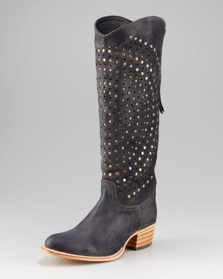 Deborah Studded Cowboy Boot