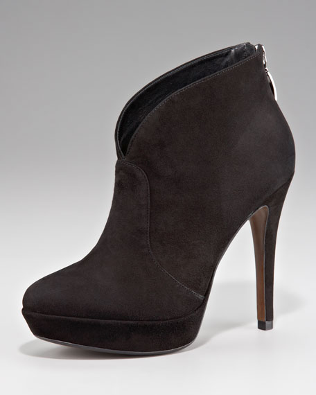 Suede Shoe Boot