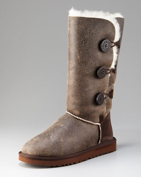 ugg australia bailey button bomber boots
