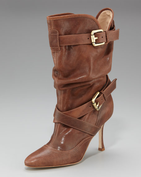 Haven Slouchy Belted Boot