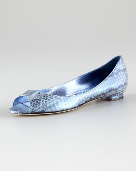 Anessa Metallic Blue Skimmer