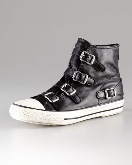 Leather Hi-Top Sneaker