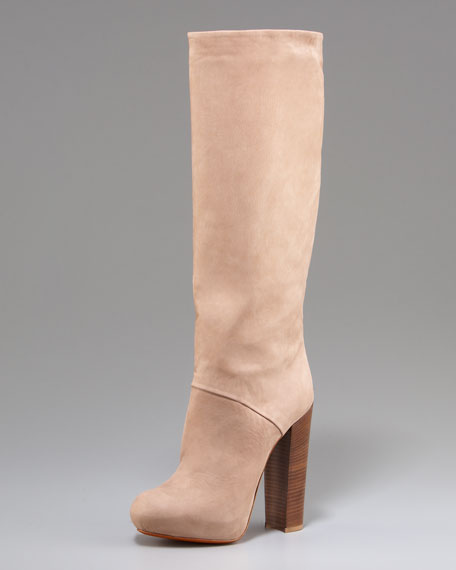 Phoenicia Platform Boot, Lt Natural